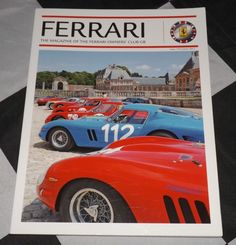 FERRARI OWNERS CLUB MAGAZINE WINTER 2012 176 FERRARI 250 GT TDF 1960 365 DAYTONA