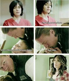 SOA S6 sneak peak.... My heart stopped a little and I got really excited just seeing Tara with short hair!!!!