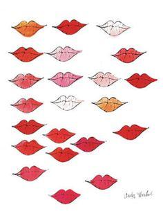 Lips Andy Warhol