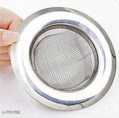 Funnels Rishtavia stainless Steel Strainer Kitchen Drain Basin Basket Filter Stopper Drainer Sink Jali, 9 cm Material: Stainless Steel Pack: Pack of 1 Length: 10 cm Breadth: 10 cm Height: 10 cm Country of Origin: India Sizes Available: Free Size   Catalog Rating: ★4.1 (810)  Catalog Name: Free Gift Designer Funnels CatalogID_1133508 C135-SC1650 Code: 261-7101762-993