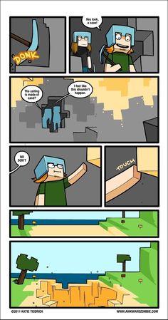 When I play minecraft Lol Minecraft Comics, Minecraft Poster, Memes Minecraft, Craft Minecraft, Skins Minecraft, Minecraft Creations, How To Play Minecraft, Minecraft Stuff, Amazing Minecraft