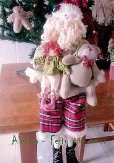 Projeto de Natal Papai Noel com Presente para alegrar a criançada.    OBS: ENVIO DO PEDIDO MEDIANTE A DEPÓSITO EM CONTA BANCÁRIA. R$ 35,00