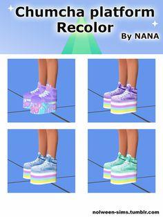 STATUS testing - Platform recolors - BY NANA Original mesh by : Chumcha