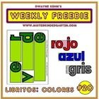 This week's FREEBIE is for our colleagues who teach in Spanish! It is a set of booklets which not only spell out the names of the colors, but do so in a fun way! Each letter of the word is a separate page that, put together, spell out the color! Spanish Words, Spanish Class, Teaching Spanish, Cut Out Letters, Kindergarten Projects, Student Drawing, Teaching Activities, Booklet, Spelling