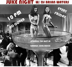 The party continues with Juke Night and DJ Brian Waters! Keeping the dream alive with vintage 45's! At 10, no cover! #DTLA