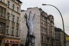 Streetart JR in Berlin – Wrinkles of the City 2