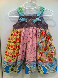Matilda Jane Dress - I love their kids' clothes and want to replicate them!