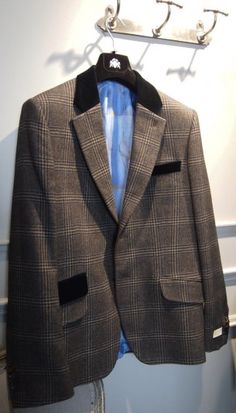 Circle of Gentlemen plaid sportcoat $698 from Gotstyle Menswear.