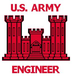 Crochet Pattern Army Military Engineer Chart to make a blanket