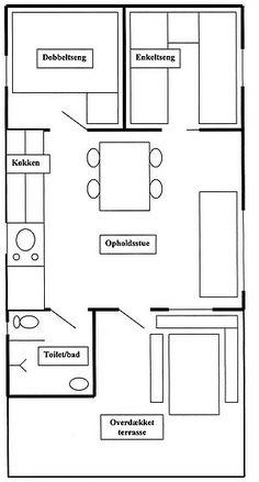 Plattegrond! Woonkamer = 4 x 4,25 = 17m2 Slaapkamer = 3,75 x 3,8 ...
