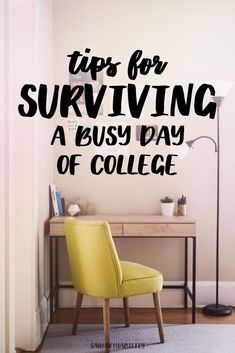 Don't let college days overwhelm you! These tips for making it through busy college days will help make your college experience better!