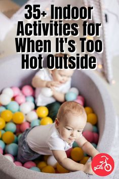 36 Indoor Activities for When It's Too Hot Outside Summer Activities For Toddlers, Fun Crafts For Kids, Infant Activities, Preschool Activities, Summer Science, Kid Friendly Meals, Fun Learning, Grandchildren, Kids And Parenting