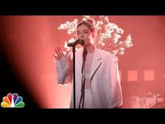 The Tonight Show Starring Jimmy Fallon: Lorde: Perfect Places Lorde, Badass Women, Jimmy Fallon, I Love Girls, Celebs, Celebrities, My Favorite Music, Music Is Life, Pretty People