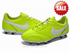 Chaussures de foot nike The Premier FG Fluorescent Vert Blanc Nike Premier Premium Air Max Sneakers, Sneakers Nike, Nike Cortez, Nike Air Max, Football, Shoes, Fashion, Nike Tennis, Soccer