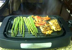 Tilapia on grill