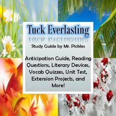 for Tuck Everlasting - Glencoe