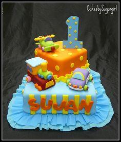 Toys birthday Cake