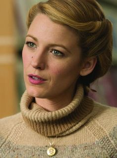 """Blake Lively in """"The Age of Adaline"""" Mode Blake Lively, Blake Lively Ryan Reynolds, Blake Lively Style, Modern Hairstyles, Vintage Hairstyles, Pretty Hairstyles, Wedding Hairstyles, Blond, Age Of Adaline"""
