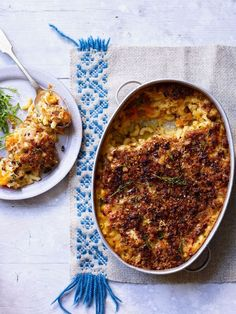 Cauliflower mac 'n' cheese   Jamie Oliver recipes Cauliflower Mac And Cheese, Cauliflower Recipes, Batch Cooking, Cooking Recipes, Rice Recipes, Noodle Recipes, Cheese Recipes, Bread Recipes, Recipes