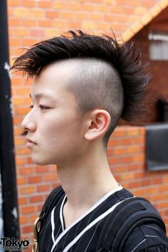 med to haircuts undercut mohawk fluffy things to wear 4999