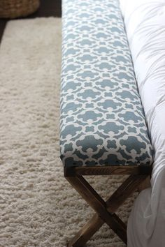 DIY Upholstered Benc...