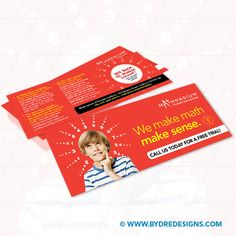 Back to School Direct Mail Postcard for Mathnasium Centre. School Direct, Direct Mail Postcards, Flyer Design, Back To School, Centre, Design Inspiration, Math, Layout Inspiration, First Day Of School