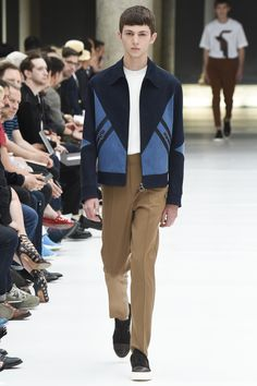 zipper shirt jacket | Neil Barrett Spring 2017 Menswear Fashion Show