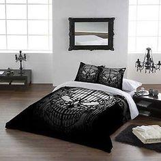 duvet gothic sold double bedroom