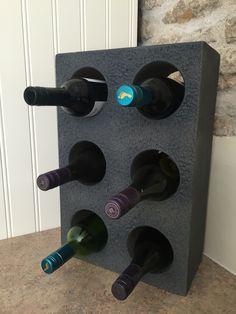 Andrew James stone stackable wine racks