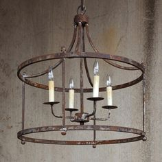 Savannah Large Iron Chandelier                                                                                                                                                                                 More