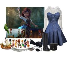 Zarina: The Pirate Fairy. Disney Tinker Bell