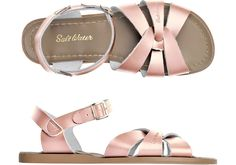 Rose-gold Saltwaters. Yes please.