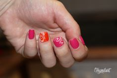 PASO A PASO EN EL BLOG! #pinknails #nailart #uñasdecoradas #notd #npa