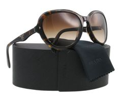 Prada Sunglasses SPR 09O HAVANA 2AU-6S1 SPR09O « Impulse Clothes