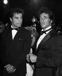 Forget Travolta, look at Stallone ❤️