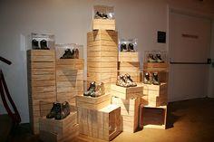 Cool shoe display