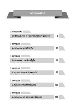"""Cover of """"Ricette per un metabolismo super"""""""