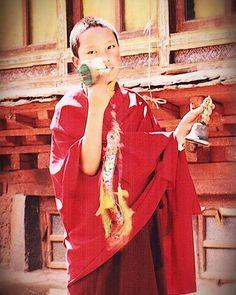 Young H.H 17th Karmapa in Tsurpu monastery #guru #karmapachenno #buddhism #darma #tibetan