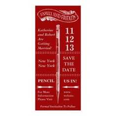 Chalkboard Vintage Save The Date Personalized Announcement