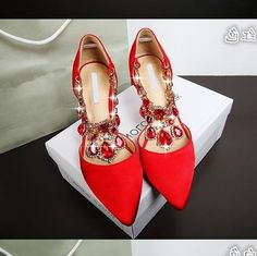 38.00$  Buy here - https://alitems.com/g/1e8d114494b01f4c715516525dc3e8/?i=5&ulp=https%3A%2F%2Fwww.aliexpress.com%2Fitem%2F2015-mb-rhinestone-shallow-mouth-pointed-toe-high-heeled-shoes-thin-heels-shoes-bridesmaid-shoes-red%2F32546339031.html - women shoes ladies luxury pearl crystal diamond wedding shoes Waterproof platform bridal shoes and high-heeled dress shoes pumps 38.00$