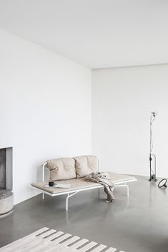 and a hint of yellow in this nice apartment for sale via Fantastic Frank.