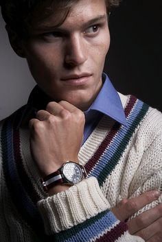 Smart Turnout Uppingham Cricket Sweater and Harvard Watchstrap by Smart Turnout London, via Flickr