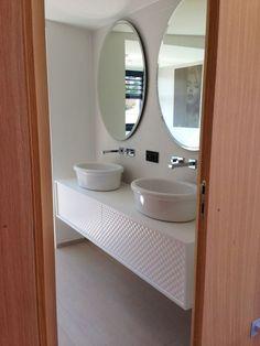 Salle de bain des filles - [S�te] - Maison contemporaine en bois : on est dans la place ;) par Thao� sur ForumConstruire.com