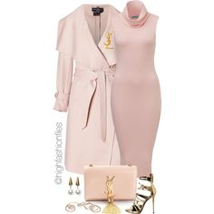 A fashion look from September 2015 featuring Salvatore Ferragamo coats, Giuseppe Zanotti sandals and Yves Saint Laurent shoulder bags. Browse and shop related …