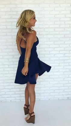 currently crushing✨ Rise Up Skater Dress in Navy Blue #daintyhooligan #dresses #fallfashion #love #cute #newyork #wiwt #ootd #ootn #style #fashioninsta https://www.daintyhooligan.com/collections/blue-dresses/products/copy-of-a-template-product-131