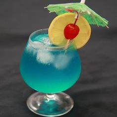 How to Make a Blue Hawaii -- via wikiHow.com