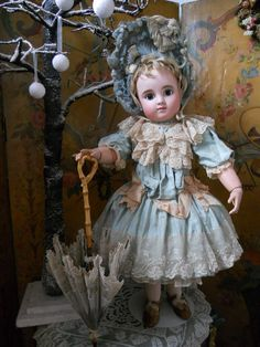 ~~~Gorgeous French Bisque Bebe ,Figure C by Jules Steiner ~~~ from whendreamscometrue on Ruby Lane