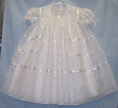 """Ms. Dot's """"Lace Clouds"""" Dress - yards and yards of beautiful lace!!!"""