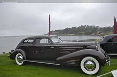 1937 V16 Cadillac. Back when wind wings still existed. Not many had them on the rear windows though.