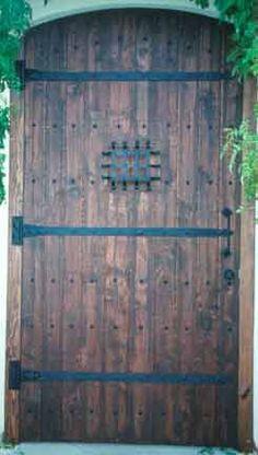 Custom Wood Doors, Iron And Glass Doors, Rustic Doors, San Diego, California  · Outdoor SpacesExterior